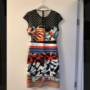Clover Canyon Bold Print Bodycon Dress